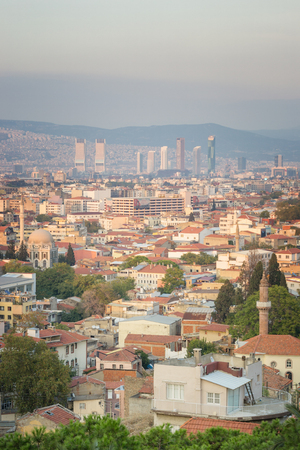 Cityscape of Izmir Turkey.