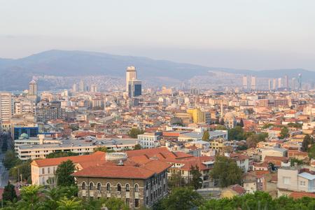 Cityscape of Izmir Turkey.