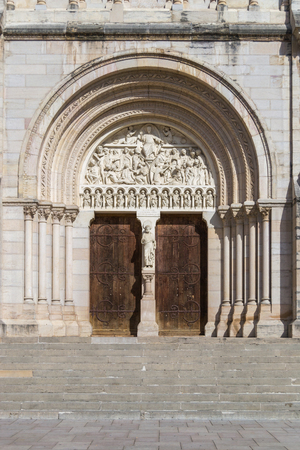 Macon - France, Entrance to the Saint Peters Church
