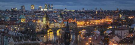 Panoramic View of Prague, Czech Republic