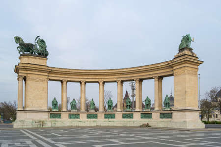Budapest Heroes Square - Hungary