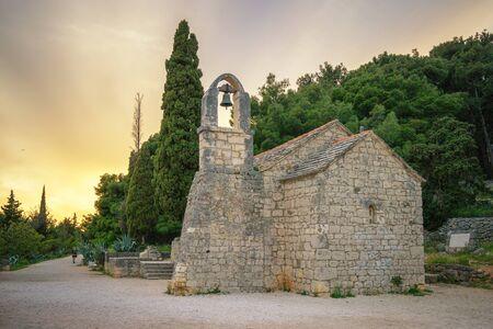 Marjan Hill - the church of St. Nicholas, Split