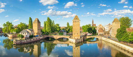 Panoramic View of Strasbourg, France