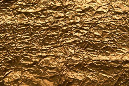 heavy metal: golden metal sheet texture background
