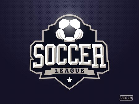 Modern professional soccer for sport team.