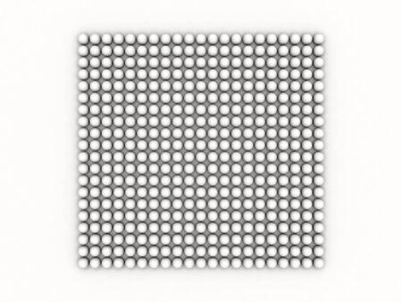 zatkanie: biały zamknięcia bańki wzorca na białym tle