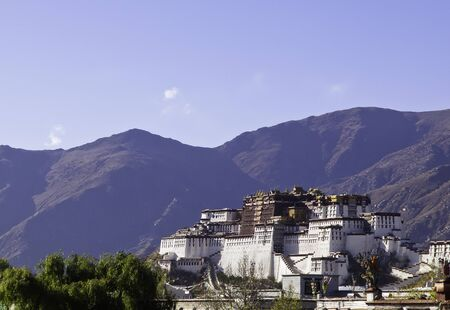Potala winter palace in Tibet photo