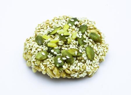 Thai rice cracker photo