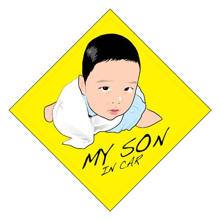 Child Graphic Ilustração