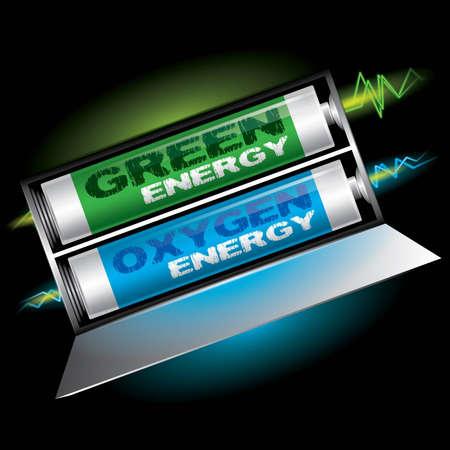Green Energy 矢量图像