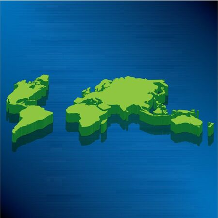 metalic design: World Map