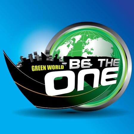 Green World 矢量图像