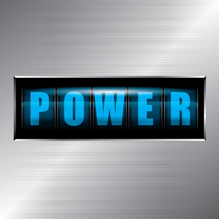 Power Stock Vector - 12975643