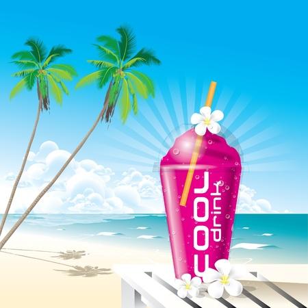 Summer Drink Stock Vector - 12976328