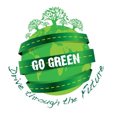 illustrators: Go Green