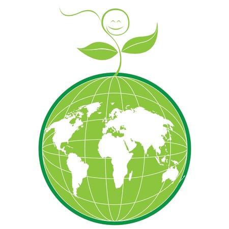 Green World Illustration