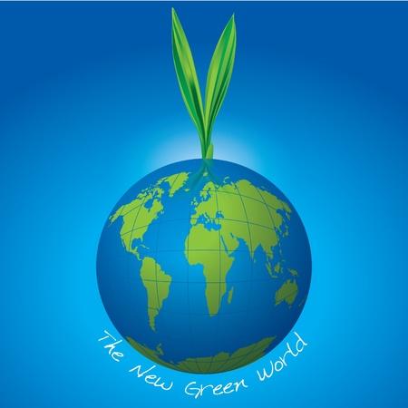 New green world Stock Vector - 13568437