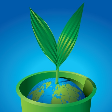 New green world Vector