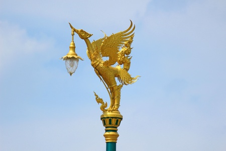 The swan lamp photo
