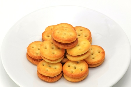 Biscuits pineapple fillings Stock Photo - 13776810