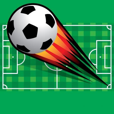 Soccer football Stock Vector - 14017885