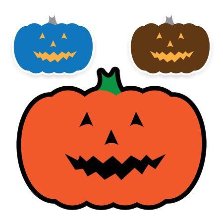 frightful: Halloween pumpkin Illustration