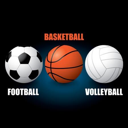 Sport Balls Stock Vector - 14185467