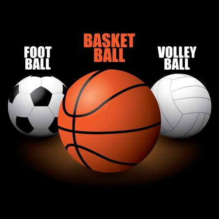 Sport Balls Stock Vector - 14185469