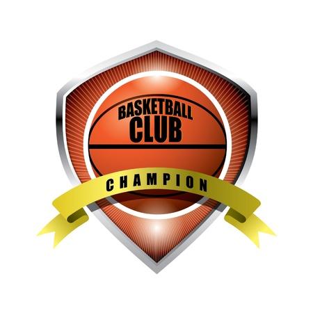 Basketball badge Stock Vector - 14387432
