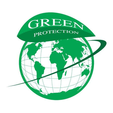 Green protection Stock Vector - 14387389