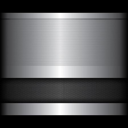 platin: Metall-Hintergrund Illustration