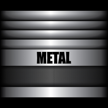pavimento lucido: metal background