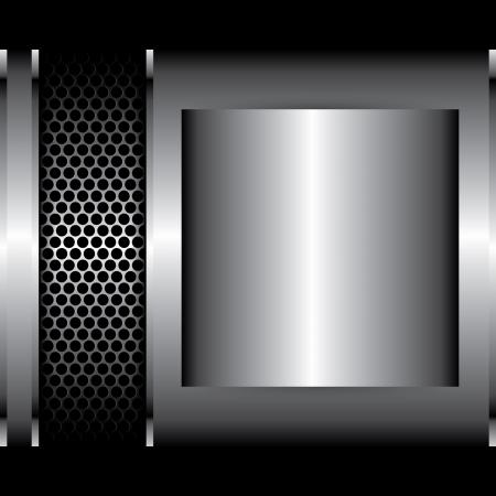 titanium: metal background