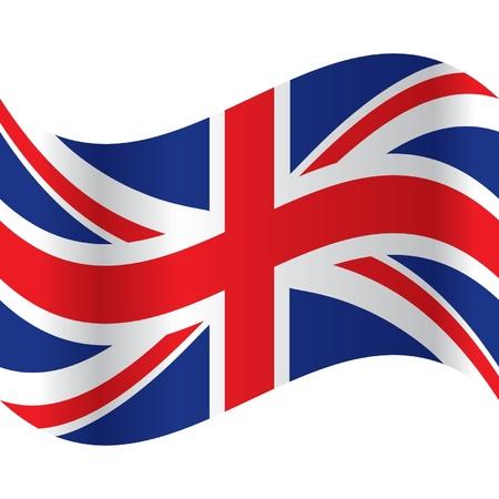 bandera inglaterra: bandera oficial de Gran Bretaña Vectores