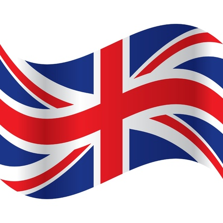 england flag: official flag of great britain