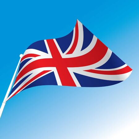 official flag of great britain Vector
