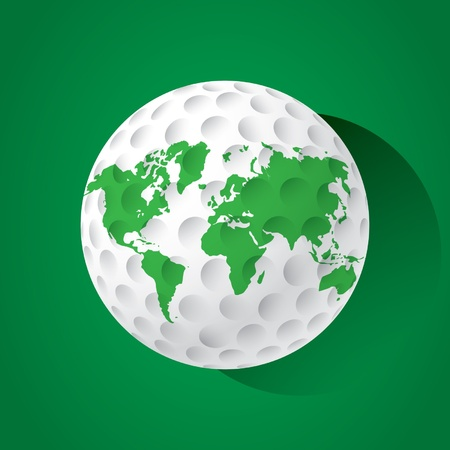 global retirement: World golf ball