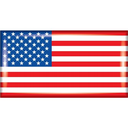 United state flag Stock Vector - 14635019