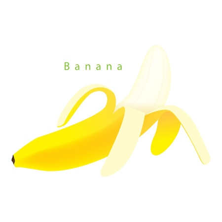 Open banana Stock Vector - 15143998