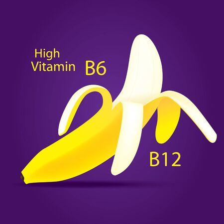 Open banana  Stock Vector - 15144004