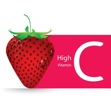 vitamin c: Strawberry high vitamin C