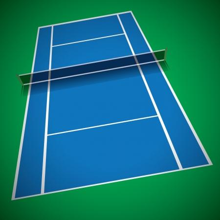 sideline: Pista de tenis