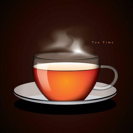 Cup of tea vector Stock Vector - 15558122
