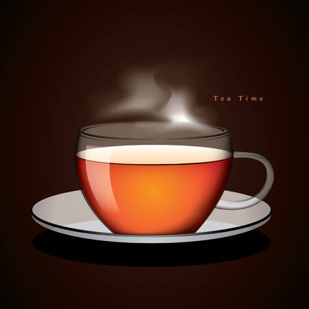 Cup of tea vector Stock Vector - 15558122