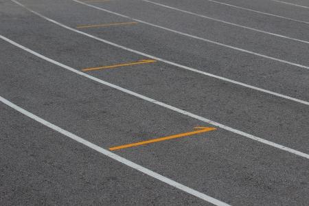 Running track photo