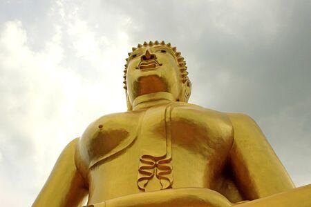 praye: Buddha statue in Thailand Stock Photo