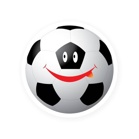 Smile sport ball Stock Vector - 16644211