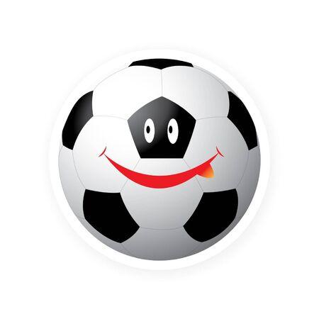 Smile sport ball Stock Vector - 16644211