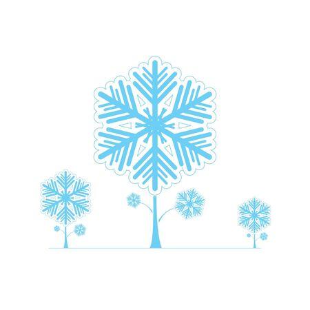 Snowflake Vectors Stock Vector - 16644285