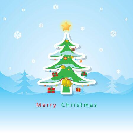 Christmas card vector Stock Vector - 16644283